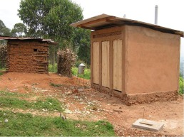 The new permanent toilets